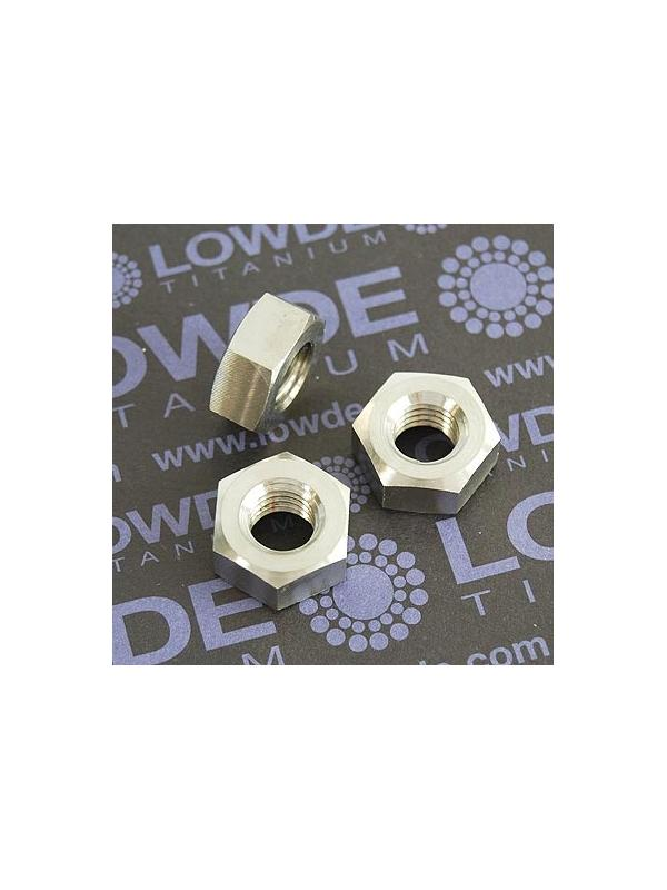 Tuerca DIN 934 M10x1,50 de titanio gr. 5 (6Al4V) - Tuerca DIN 934 M10x1,50 de titanio gr. 5 (6Al4V)