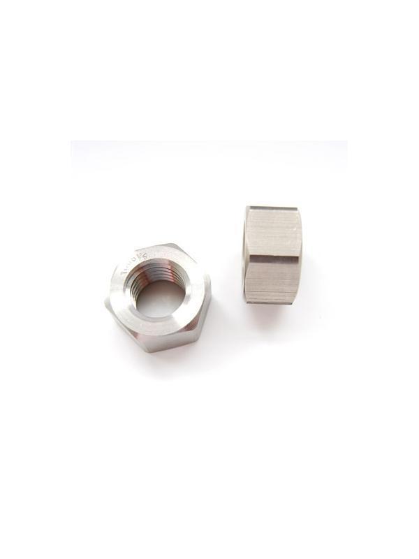 Tuerca DIN 934 M18x2,50 de titanio gr. 5 (6Al4V) - Tuerca DIN 934 M18x2,50 de titanio gr. 5 (6Al4V)