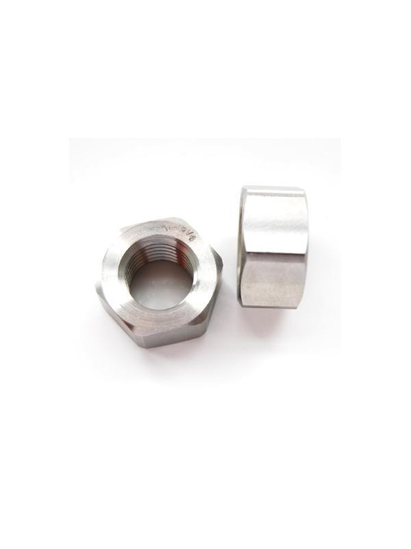 Tuerca DIN 934 M20x2,50 de titanio gr. 5 (6Al4V) - Tuerca DIN 934 M20x2,50 de titanio gr. 5 (6Al4V)
