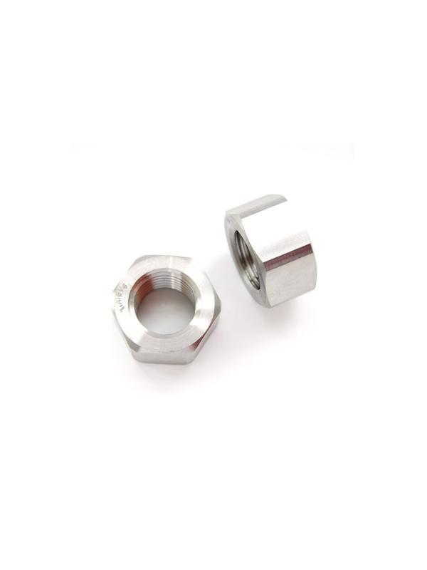 Tuerca DIN 934 M22x2,50 de titanio gr. 5 (6Al4V) - Tuerca DIN 934 M22x2,50 de titanio gr. 5 (6Al4V)
