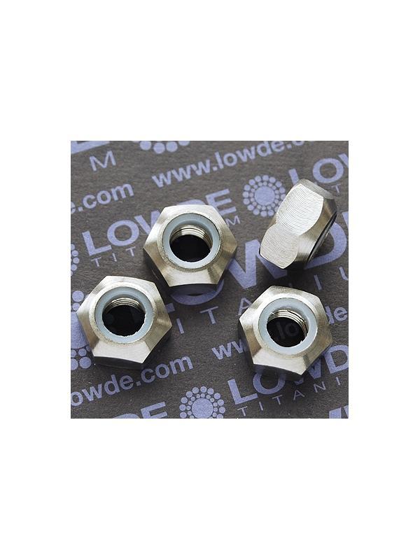 Tuerca DIN 985 M10x1,25 autoblocante de titanio gr. 5 (6Al4V) - Tuerca DIN 985 M10x1,25 autoblocante de titanio gr. 5 (6Al4V)