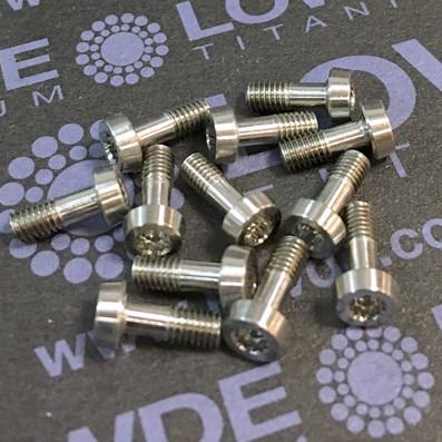 125 Items LN 29950 Mj3x8 (según plano) titanio gr. 5 (6Al4V)