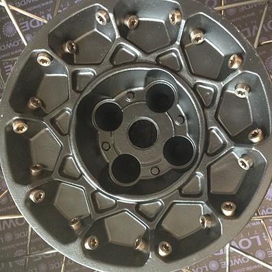 40 Cabezas de radios rueda BMW R850GS de Titanio grado 5 (6Al-4V) - 40 Cabezas de radios rueda BMW R850GS de Titanio grado 5 (6Al-4V)