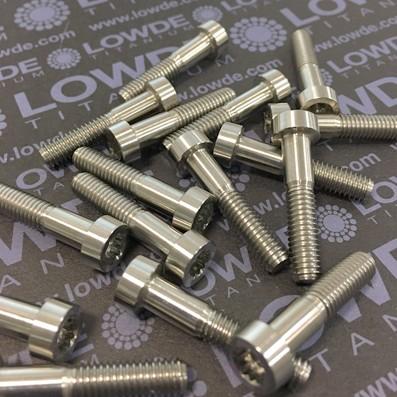 50 Items LN 29950 MJ6x29 titanio gr. 5 (6Al4V) - 50 Items LN 29950 MJ6x29 mm. titanio gr. 5 (6Al4V) AMS 4928. Fabricado bajo normativa aeroespacial. Certificados de calidad incluidos.