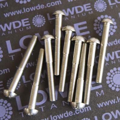 DIN 7985 M5x41 mm. de titanio gr. 5 (6Al4V)