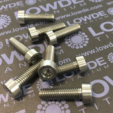 90 Items LN 29950 MJ6x21 mm. titanio gr. 5 (6Al4V) - 90 Items LN 29950 MJ6x21 mm. titanio gr. 5 (6Al4V) AMS 4928. Fabricado bajo normativa aeroespacial. Certificados de calidad incluidos.