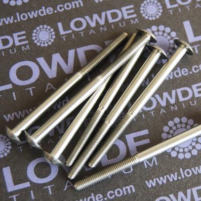 DIN 9330 M4x60 mm. de titanio gr. 5 (6Al4V) - DIN 9330 M4x60 mm. de titanio gr. 5 (6Al4V)