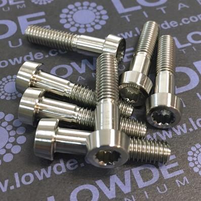 95 Items LN 29950 Mj6x27 Titanio gr. 5 (6Al4V) - 95 Items LN 29950 Mj6x27 Titanio gr. 5 (6Al4V). Fabricación según norma.