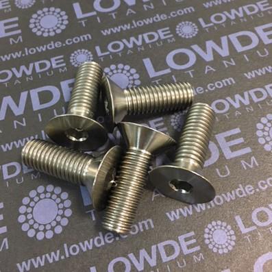 Avellanado DIN 7991 M10x30 mm. de titanio gr. 2 - Avellanado DIN 7991 M10x30 mm. de titanio gr. 2