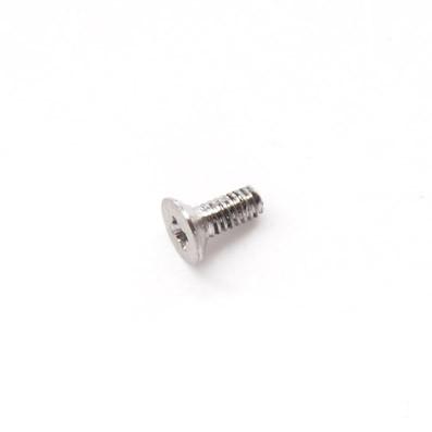 Avellanado DIN 965 M2x5 mm. de titanio gr. 5 (6Al4V)