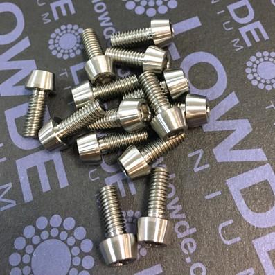 CÓNICO M4x10 titanio gr. 5 (6Al4V)