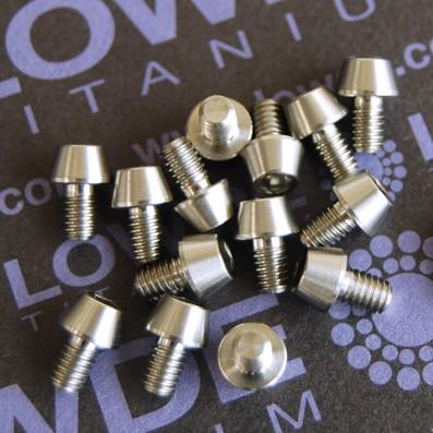 CÓNICO M4x6 titanio gr. 5 (6Al4V)