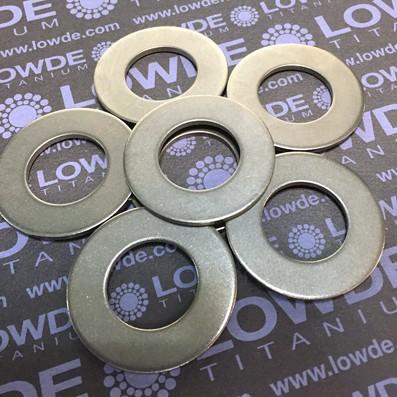 Arandela DIN 125 M20 de titanio gr. 2 (puro)