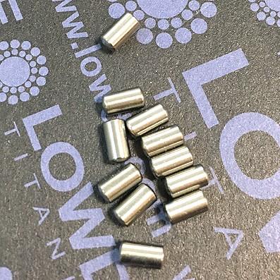 Pin DIN 7 Ø3x5 mm. de Titanio gr. 5 (6Al4V) - Pin DIN 7 Ø3x5 mm. de Titanio gr. 5 (6Al4V)