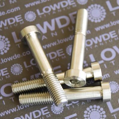 Tornillo DIN 7984 M10x150x60 titanio gr. 5 (6Al4V) - Tornillo DIN 7984 M10x150x60 titanio gr. 5 (6Al4V)