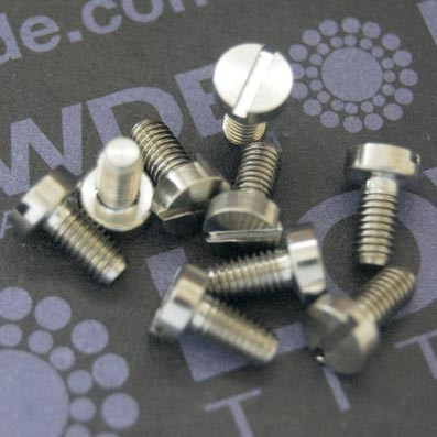 1 Tornillo DIN 84 M3x6 mm. de titanio gr. 5 (6Al4V) - DIN 84 M3x6 mm. de titanio gr. 6 (6Al4V)