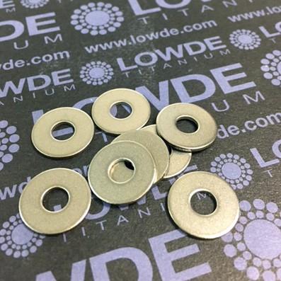 Arandela DIN 9021 M5 de Titanio gr. 2 - Arandela DIN 9021 M5 de Titanio gr. 2