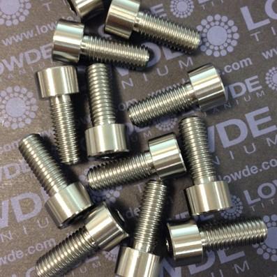 Tornillo DIN 912 M10x150x25 titanio gr. 5 (6Al4V) - Tornillo DIN 912 M10x150x25 titanio gr. 5 (6Al4V)