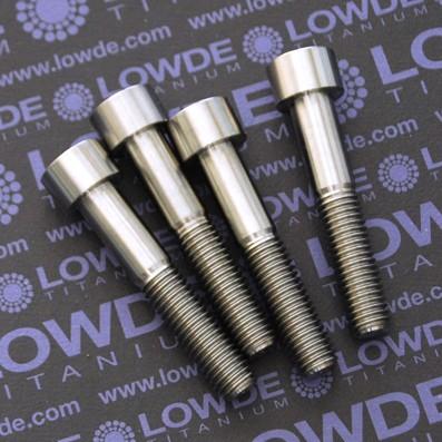 Tornillo DIN 912 M10x150x55 titanio gr. 5 (6Al4V) - Tornillo DIN 912 M10x150x55 titanio gr. 5 (6Al4V)