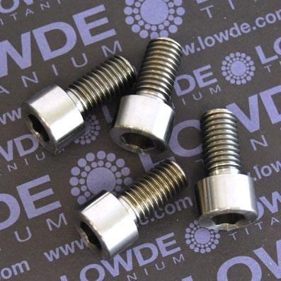 Tornillo DIN 912 M10x20 mm. de titanio gr. 2 (puro)