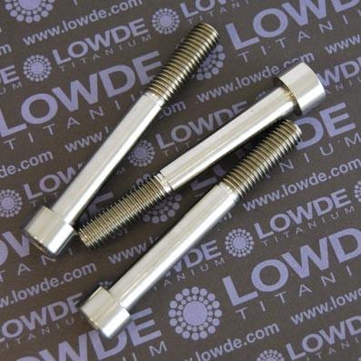 Tornillo DIN 912 M10x80 mm. de titanio gr. 2 (puro)