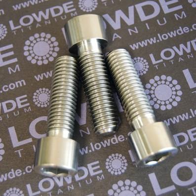 Tornillo DIN 912 M12x40 titanio gr. 5 (6Al4V) - 1 Tornillo DIN 912 M12x40 titanio gr. 5 (6Al4V)