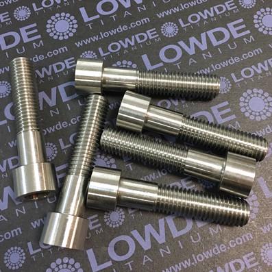 Tornillo DIN 912 M12x55 titanio gr. 5 (6Al4V)