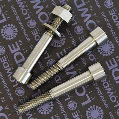 Tornillo DIN 912 M12x75 titanio gr. 5 (6Al4V)
