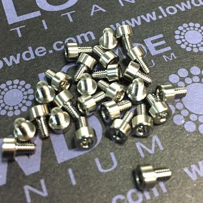 DIN 912 M2.5x4 titanio gr. 5 (6Al4V) - DIN 912 M2.5x4 titanio gr. 5 (6Al4V)