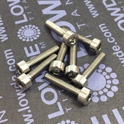 DIN 912 M3x15 titanio gr. 5 (6Al4V) - Tornillo DIN 912 M3x15 mm. de titanio gr. 5 (6Al4V)