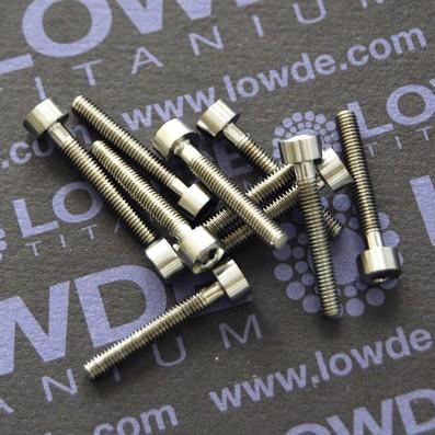 Tornillo DIN 912 M3x20 mm. de TITANIO gr. 5 (6Al4V) - Tornillo DIN 912 M3x20 mm. de titanio gr. 5 (6Al4V)