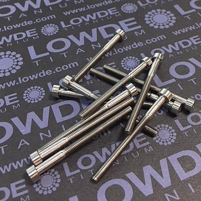 Tornillo DIN 912 M3x40 mm. de TITANIO gr. 5 (6Al4V) - Tornillo DIN 912 M3x40 mm. de titanio gr. 5 (6Al4V)