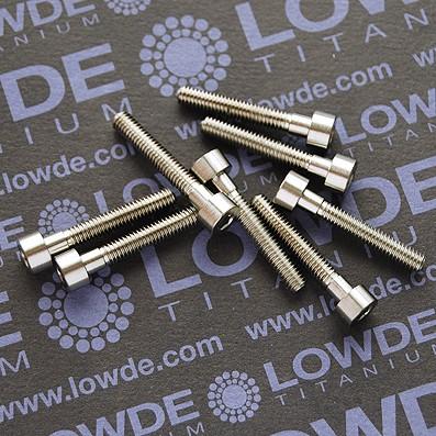 DIN 912 M4x25 titanio gr. 5 (6Al4V)