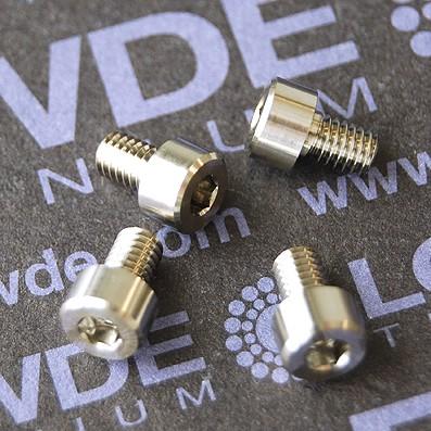 DIN 912 M4x6 titanio gr. 5 (6Al4V)