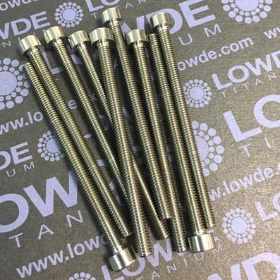 DIN 912 M4x60 titanio gr. 5 (6Al4V) - Tornillo DIN 912 M4x60 mm. de titanio gr. 5 (6Al4V)