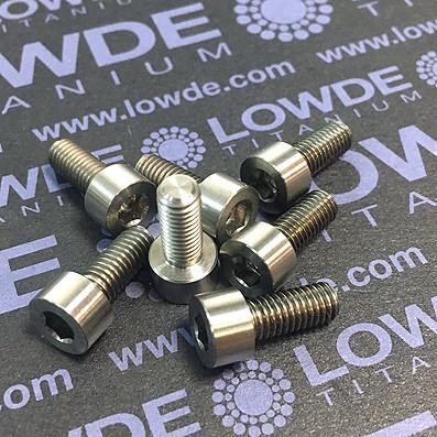 DIN 912 M5x12 titanio gr. 5 (6Al4V) - Tornillo DIN 912 M5x12 mm. de titanio gr. 5 (6Al4V)