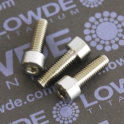 DIN 912 M5x16 titanio gr. 5 (6Al4V) - Tornillo DIN 912 M5x16 mm. de titanio gr. 5 (6Al4V)