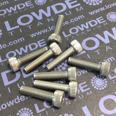 Tornillo DIN 912 M5x20 mm. de titanio gr. 2 (puro) - Tornillo DIN 912 M5x20 mm. de titanio gr. 2 (puro)