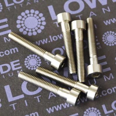DIN 912 M5x30 titanio gr. 5 (6Al4V) - Tornillo DIN 912 M5x30 mm. de titanio gr. 5 (6Al4V)