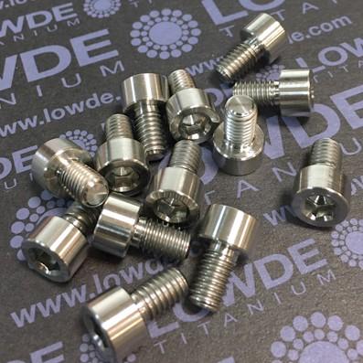 DIN 912 M6x10 titanio gr. 5 (6Al4V)