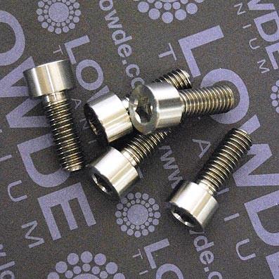 DIN 912 M6x15 titanio gr. 5 (6Al4V) - Tornillo DIN 912 M6x15 mm. de titanio gr. 5 (6Al4V)