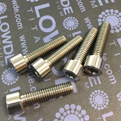 DIN 912 M6x25 titanio gr. 5 (6Al4V) - Tornillo DIN 912 M6x25 mm. de Titanio gr. 5 (6Al4V)