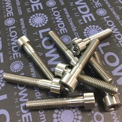 DIN 912 M6x33 titanio gr. 5 (6Al4V) - Tornillo DIN 912 M6x33 mm. de Titanio gr. 5 (6Al4V)