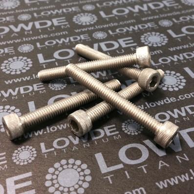 Tornillo DIN 912 M6x50 mm. de titanio gr. 2 (puro) - Tornillo DIN 912 M6x50 mm. de titanio gr. 2 (puro)