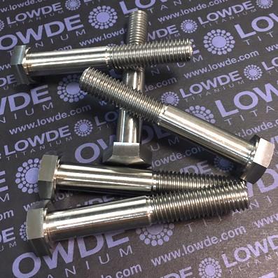 Tornillos DIN 933 M12x1,75x00 mm. Titanio grado 5 (6Al.4V) - 1 Tornillo DIN 933 M12x1,75x00 mm. Titanio grado 5 (6Al.4V)