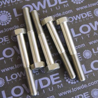 DIN 931 M8x60 mm. de titanio gr. 5 (6Al4V) - DIN 931 M8x60 mm. de titanio gr. 5 (6Al4V)