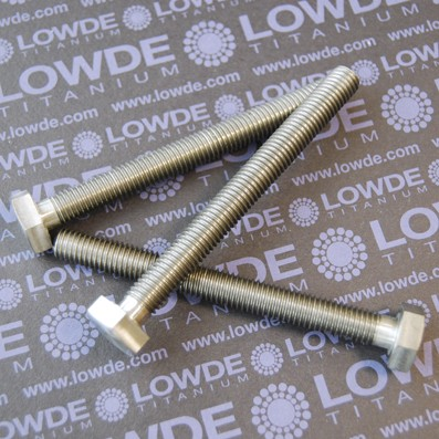 DIN 933 M10x100 mm. de titanio gr. 5 (6Al4V) - DIN 933 M10x100 mm. de titanio gr. 5 (6Al4V)