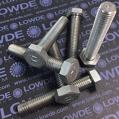 Tornillo DIN 933 M12x70 mm. de titanio gr. 2 (puro) - Tornillo DIN 933 M12x70 mm. de titanio gr. 2 (puro)