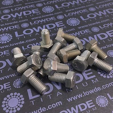 Tornillo DIN 933 M8x16 mm. de titanio gr. 2 (puro) - Tornillo DIN 933 M8x16 mm. de titanio gr. 2 (puro)