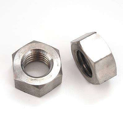 Tuerca DIN 934 M14 de titanio gr. 2 (puro)